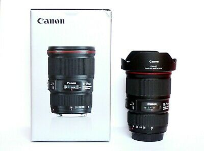 Canon EF 16-35mm 4 L IS USM Topp Zustand in OVP