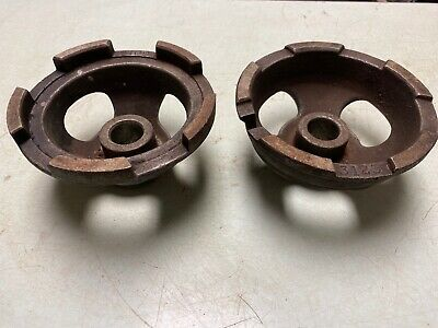 """6/"""" Ammco Van Norman Large Centering Cone Set for Brake Lathe 2/"""" Arbor 2-1//2/"""""""