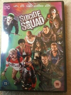 64304 DVD - Suicide Squad [NEW & SEALED]  2016 Will Smith Free P&P