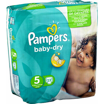 Pampers Couches Baby Dry Taille 5 Maxi Giga 11-16 kg - 117 couches