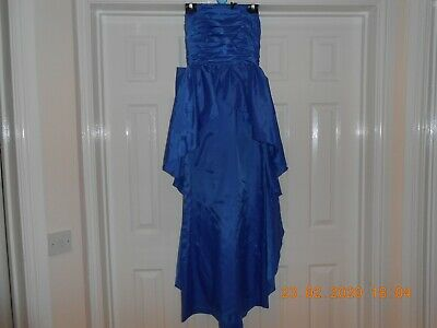 John Charles , cobalt blue,  beautiful  ball  gown, , size 12, 100% polyester