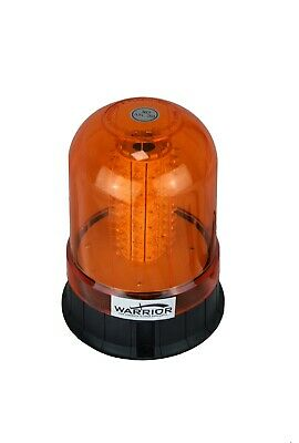 LED Magnetic Mount Tractor Digger Amber Beacon 12/24V -QUANTITY DISCOUNTS !