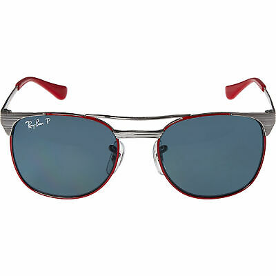 RAY BAN  Red & Silver Sunglasses, rrp: £102. new