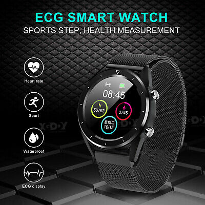 XGODY Smart Watch Heart Rate Monitor ECG Fitness Tracker for Samsung iOS Android