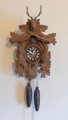 Excellent Large Vintage 8 Day Black Forest 'Regula' Cuckoo Clock - Fully Working