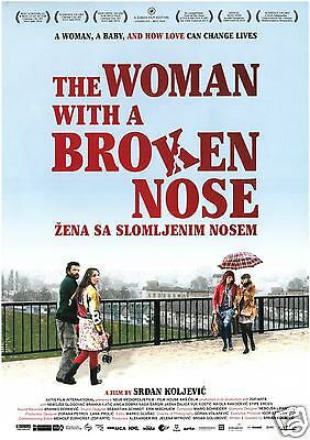 The Woman Withthe Broken Nose - Belgrad Radio Taxi - 2010 Orig. Filmposter A4