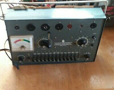 Commercial Trades Institute Model Tc20 tube tester good condition