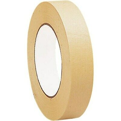 12 x Rolls STRONG PAPER TAPE ECO KRAFT BROWN BOX PARCEL WRAPPING 25mm x 50M SALE