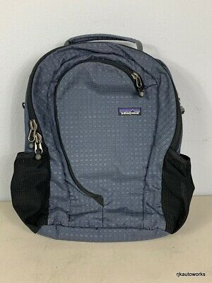 Patagonia Transport Laptop Bag Blue Travel Carry On - Lots of pockets + zippers!