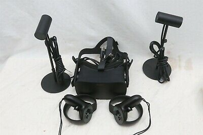 Oculus Rift C4-A VR Virtual Reality Headset System w/ Controllers & Sensors