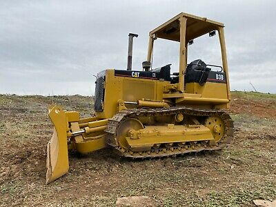 Caterpillar D3B Dozer 6 Way Blade Diesel Engine Crawler Tractor Loader Cat