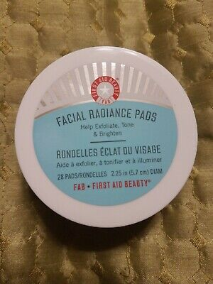 FIRST AID BEAUTY Facial Radiance Pads BRAND NEW & SEALED