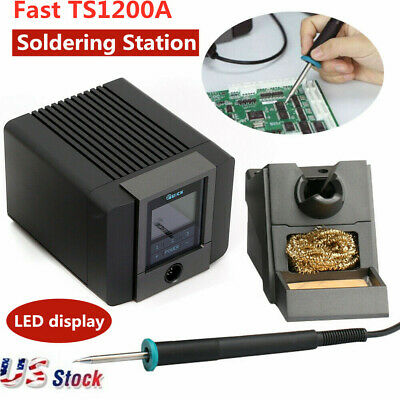 120W FAST TS1200A LCD Touch Soldering Digital Display Soldering Station TOP