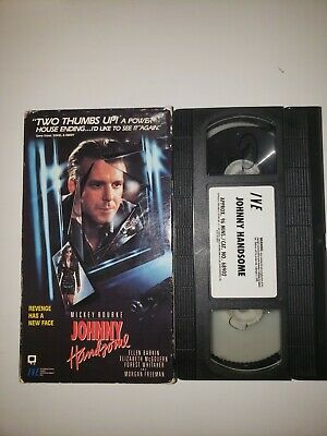 Johnny Handsome VHS Mickey Rourke