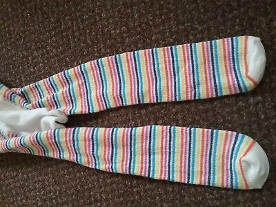 new Girls TU dark Pink glittery party Tights 4 -5 YEARS - BNWOT