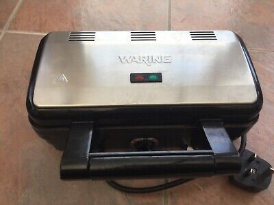 Waring WOSM2U Commercial Style Deep Fill Sandwich Maker Brand New Sealed In Box