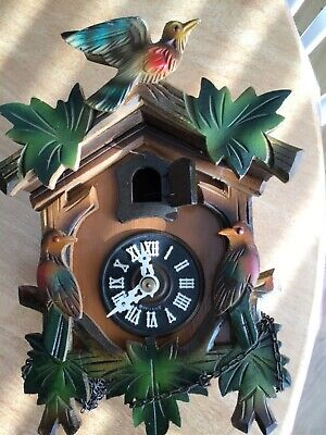 Regular Cuckoo Clock For Spares  Or Repair
