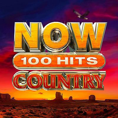 NOW 100 Hits Country - Various NEW CD - Released 13/03/2020
