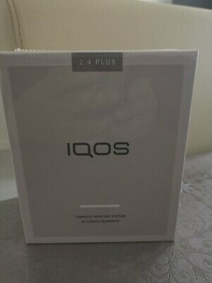 IQOS 2.4 PLUS Weiß White / Starter Kit - NEU + OVP