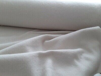 Thick Heavy Thermal Cotton Bump Curtain Interlining Fabric 360GSM TRACKING