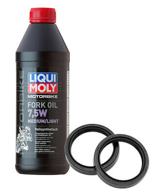 Synthetic Fork Oil 7.5W + Fork Seal To Fit Bmw R900 Rt 05-10