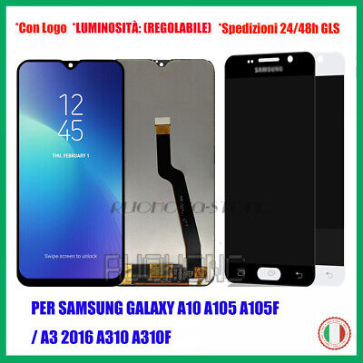 Persamsung Galaxy A10 A105F/Fn /A3 A310F Touch Screen Display Lcd Vetro Schermo