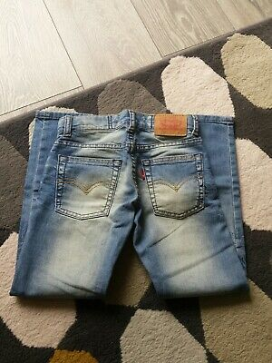 Levis Faded Light Blue Jeans 510 Skinny Age 6 Years