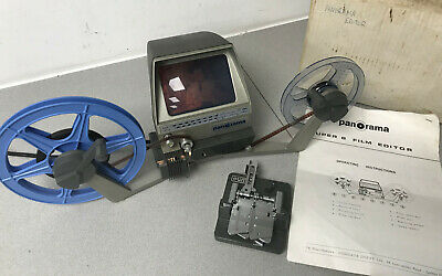 Panorama Cine Film EDITOR for SUPER 8 film with a Eumig Splicer