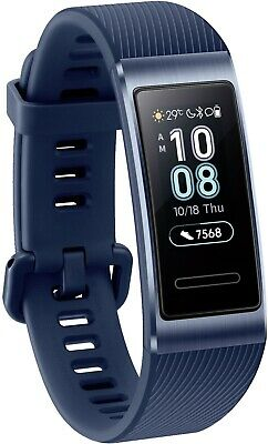 Huawei Band 3 Pro space blue, Fitness-Tracker, AMOLED Display, Smartwatch