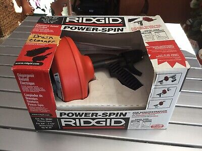 Ridgid 88387 Power Spin Drain Cleaner with Autofeed