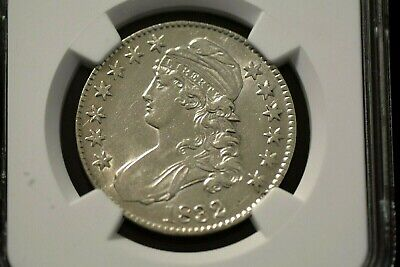 1832 50c Capped Bust Half Dollar - NGC AU53 - Beautiful Coin