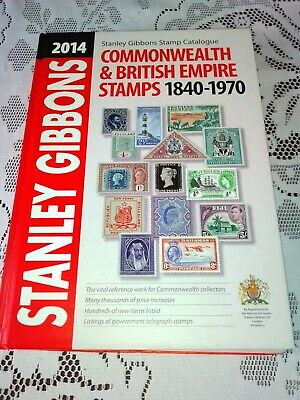 Stanley Gibbons  2014 Commonwealth & British Empire Stamps - Part 1