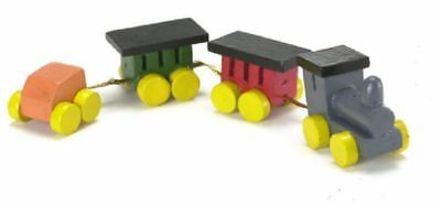 Locomotive ~ CARF6473 Dollhouse Miniature Colorful Toy Train