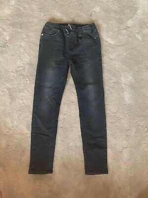 Next Boys Black Super Skinny Fit Jeans Age 10 Years