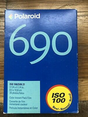 Polaroid 690 ColorFilm - TWO Packs 20 sheets total Expired 04/05