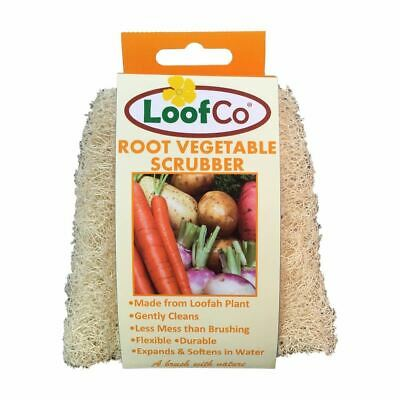 💚 Loofco Natural Root Vegetable Scrubber