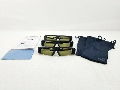Samsung 3D Active Glasses 3 Pairs w/Protective Bags and Manual SSG-2100AB