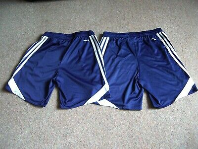 Adidas Genuine Boys Climate Shorts Size YL Approx 10 - 12 Year X 2 Pairs