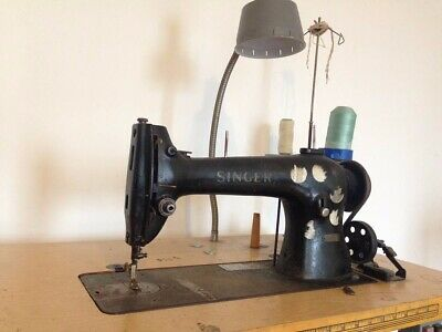 Singer 96-80 industrial sewing machine, Local pickup only. NO RESERVE