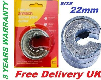 22mm AM-TECH Pipe Slicer Cutter Copper Tube Heavy Duty Pipeslice Compact UK