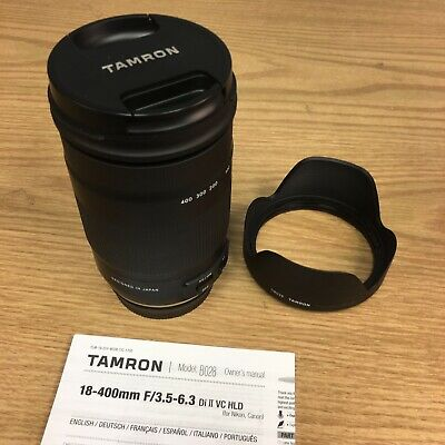 Tamron Di-II 18-400mm 18 400 mm F3.5-6.3 VC HLD for Canon APS-C EF mount