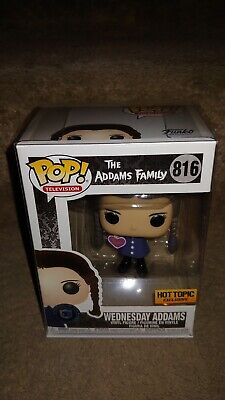 Funko Pop! The Addams Family Wednesday Addams Hot Topic Exclusive In protector