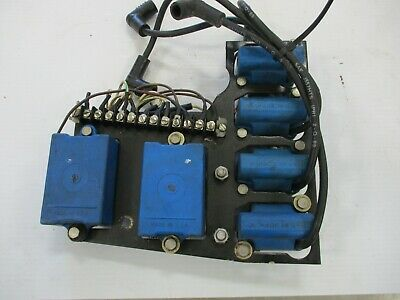 1980-1994 50 55 60 85 90 115 120 125 150 hp Force Outboard Blue Ignition Coil