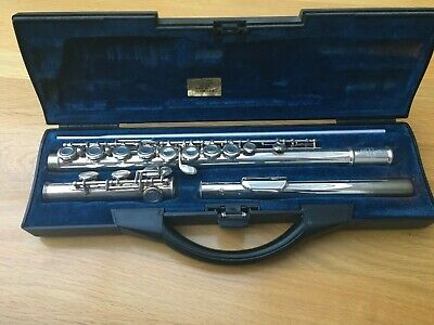 Buffet Crampon Bc6020 Flute With Cooper Mouth Piece In Carry Case