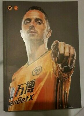 Wolverhampton Wanderers Home v Manchester United Away EPL - Programme