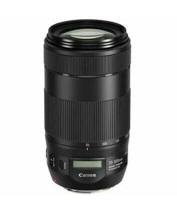 NEW - Canon EF 70-300mm f/4-5.6 IS II USM Lens - FREE SAME DAY PRIORITY SHIPPING