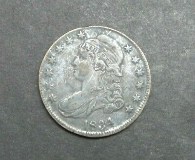 1834-P Capped Bust Half Dollar 50C US Silver Coin M3035
