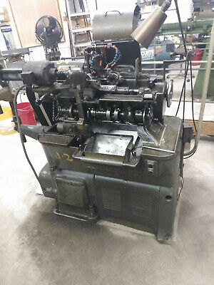 Brown @ Sharpe 00G Auto Screw Machine With Pick Off And Slotting Fair Condition