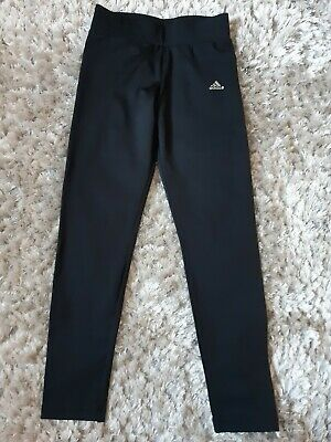 Adidas Climalite Girls Leggings Tracksuit Bottoms Size 9-10 Years  Height 140cm