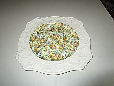 "Vintage Royal Winton Bedale Chintz Wedgwood Border Ascot Charger 12"" Plate"